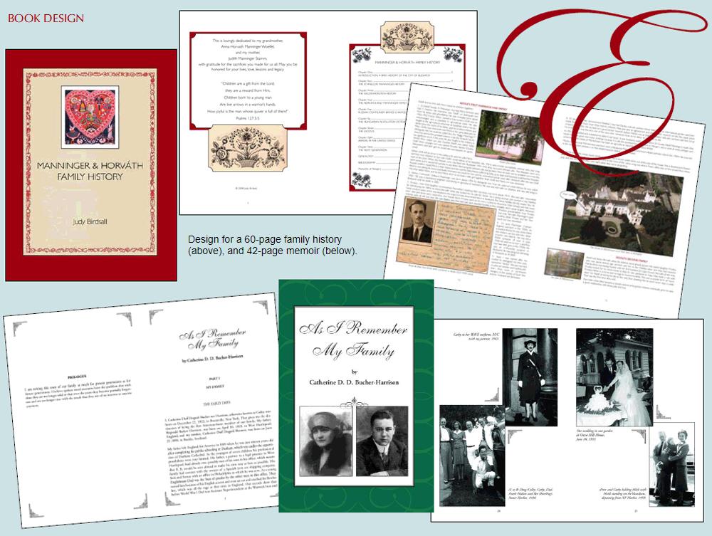 empress creative book design samples
